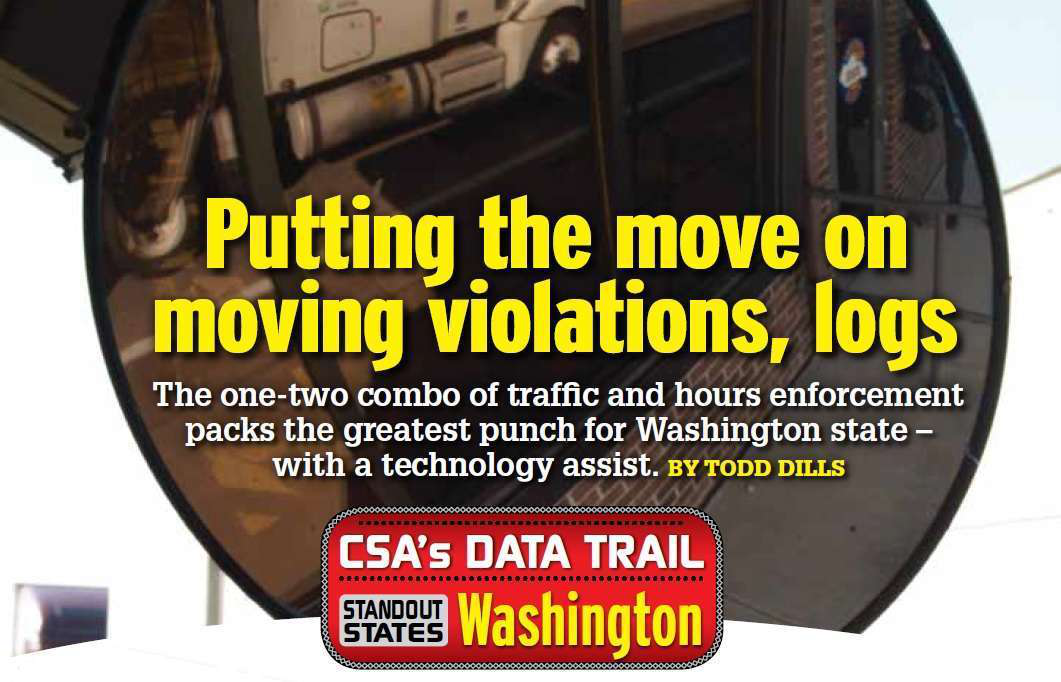Washington state: Putting the move on moving violations, logs