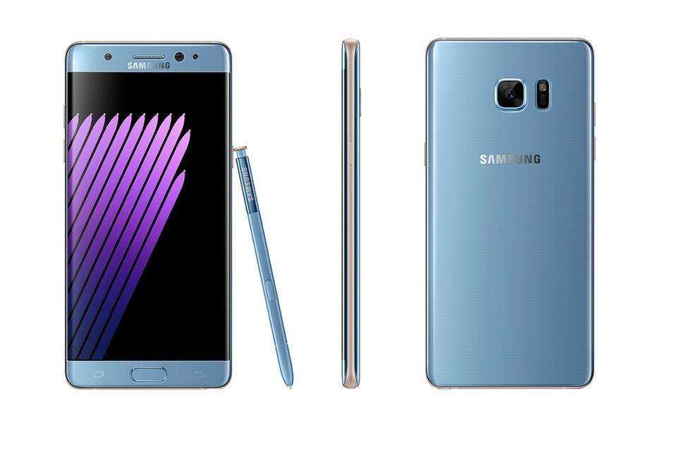 FMCSA asks truckers to discontinue use of Samsung Note7 phones, keep them unplugged