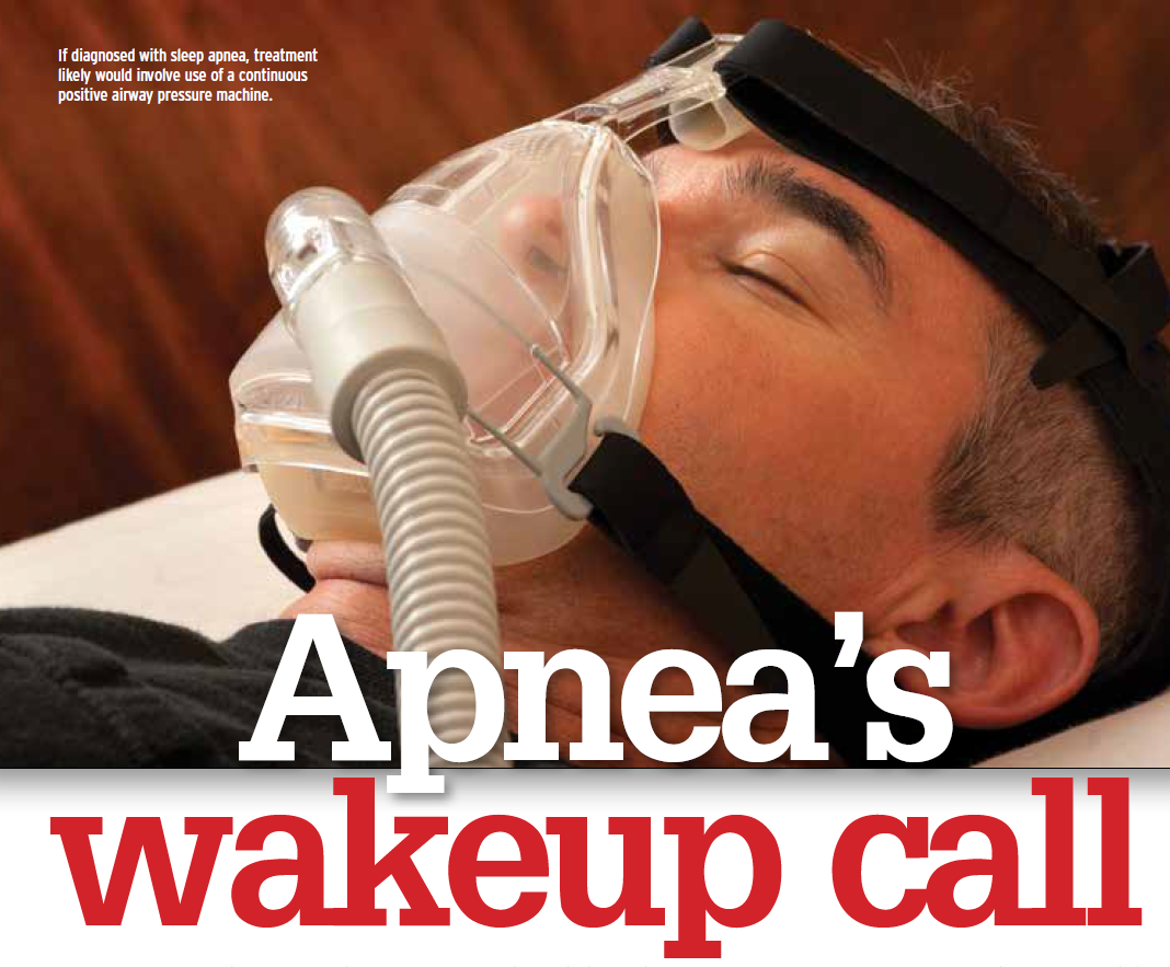 """Click through this photo to see Overdrive's recent in-depth coverage of potential sleep apnea screening regulations in the """"Apnea's Wakeup Call"""" series."""