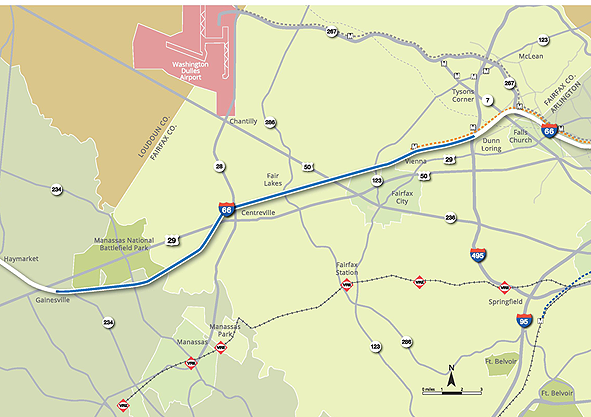 Expansion of tolls on I-66 in Va. coming, general lanes to remain free for truckers