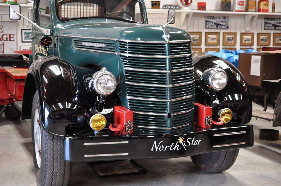 80-year-old truck restorer rebuilding 1938 FK Mack concrete truck