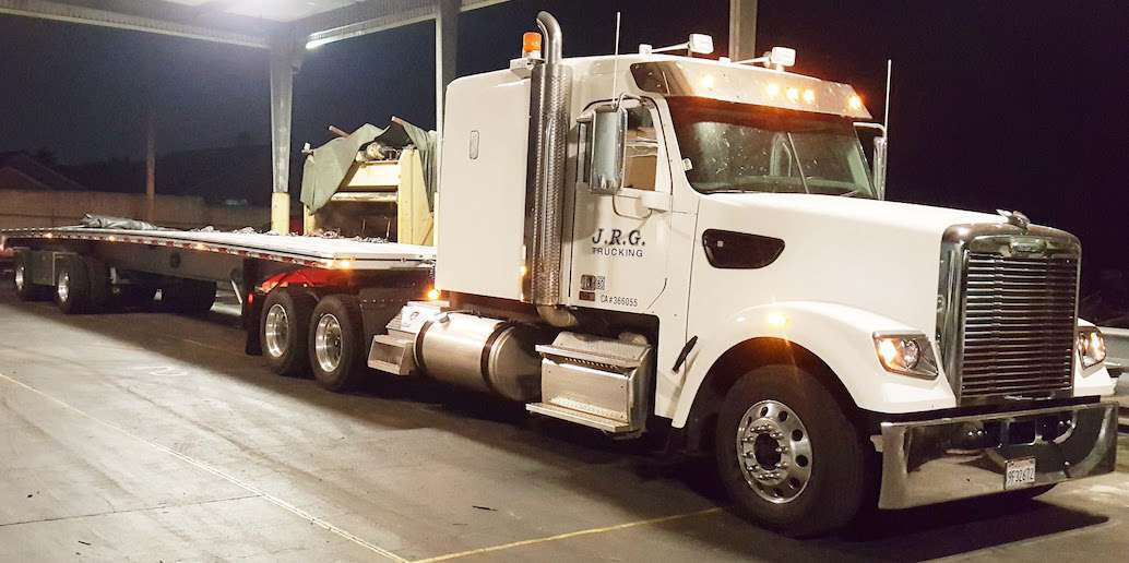 'Big Tex': Joel Griswold's 2015 Freightliner 122SD