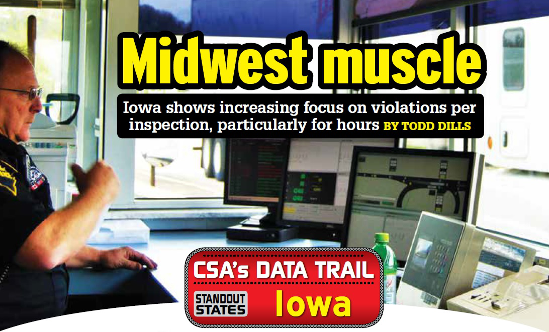 Midwest Muscle: Iowa bolsters targeted approach to driver violations