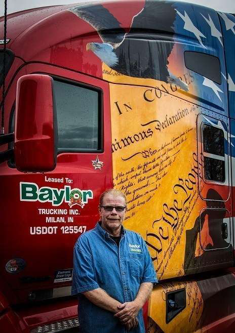 Baylor Trucking honors military veterans with pay increases
