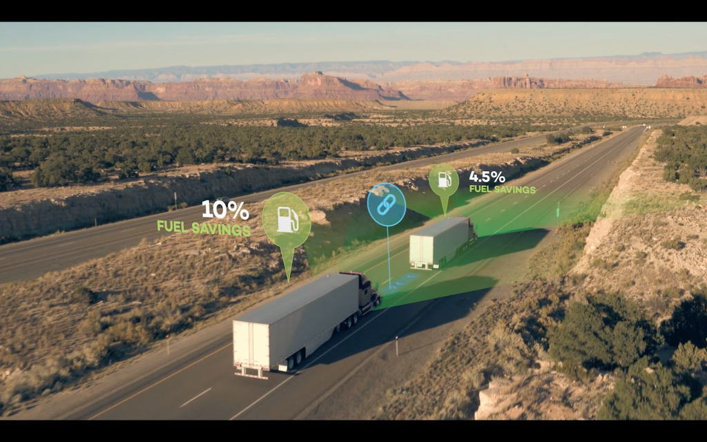 Platooning, better fuel efficiency the goal for fed-sponsored trucking project