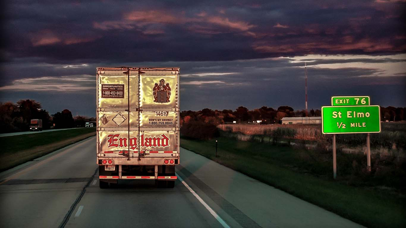 C.R. England to pay 6,300 truckers $2.35M in back pay