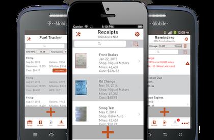 Autosist maintenance records app
