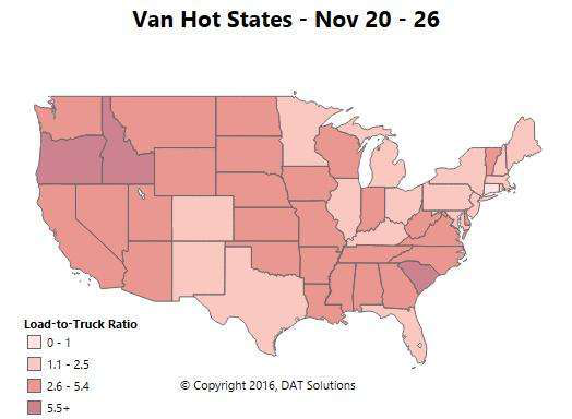 Video: A roll into and through the fall freight season's demand for dry vans
