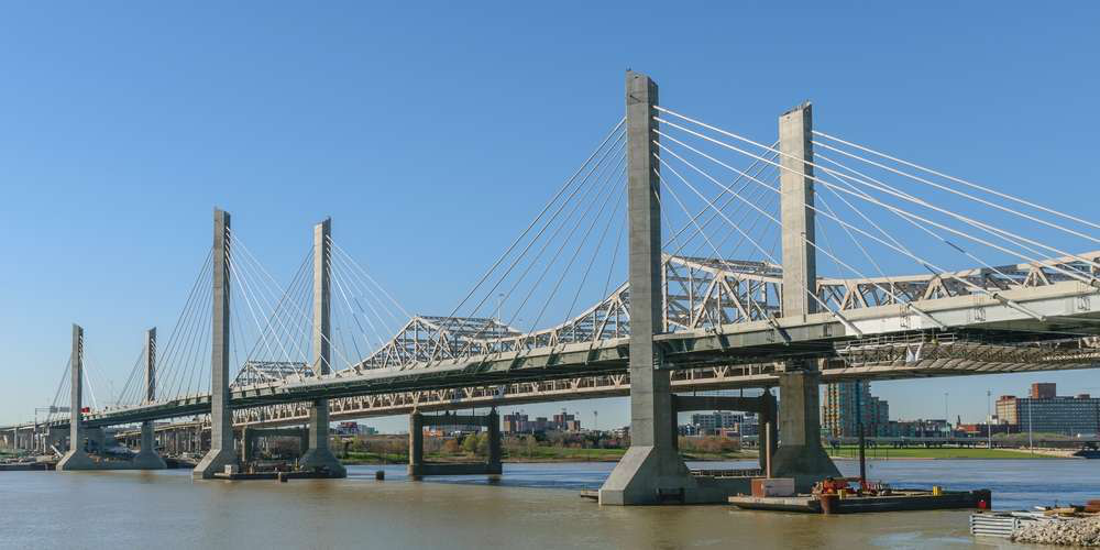 Three new tolls on bridges over the Ohio River, including the Abraham Lincoln Bridge (pictured), are scheduled to start Dec. 30, while toll rates in several states are set to increase at or near the beginning of 2017.