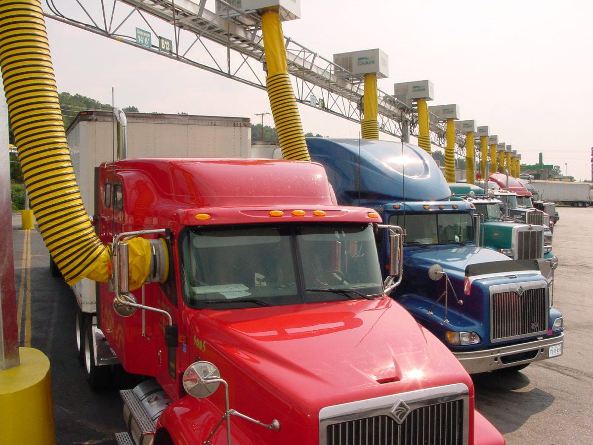 North Carolina Truck Stop To Get Idleair Electrification