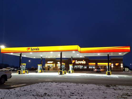 New Love's opens in northern Iowa