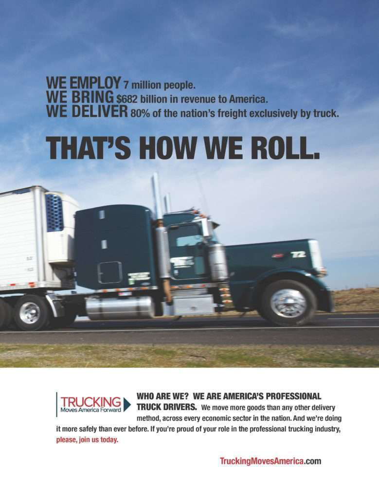 3D trailer graphic to promote trucking's image expected in 2017