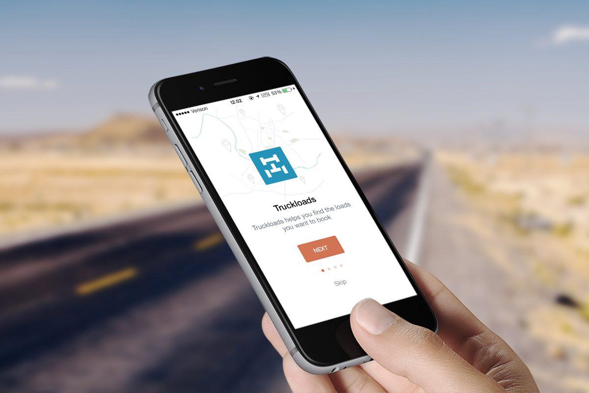 Truckloads freight matching app hits downloads milestone