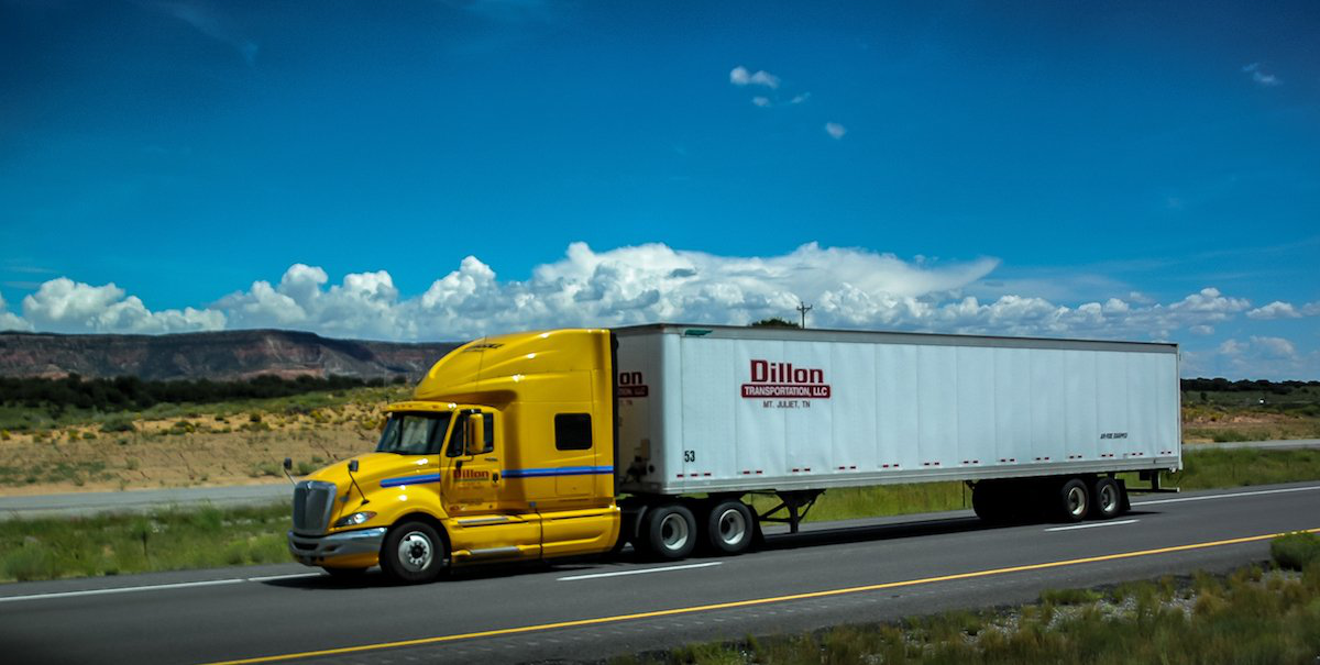 Dillon Transportation is seeking an exemption to allow its team drivers to split sleeper berth time. (Photo by 365 Trucking)