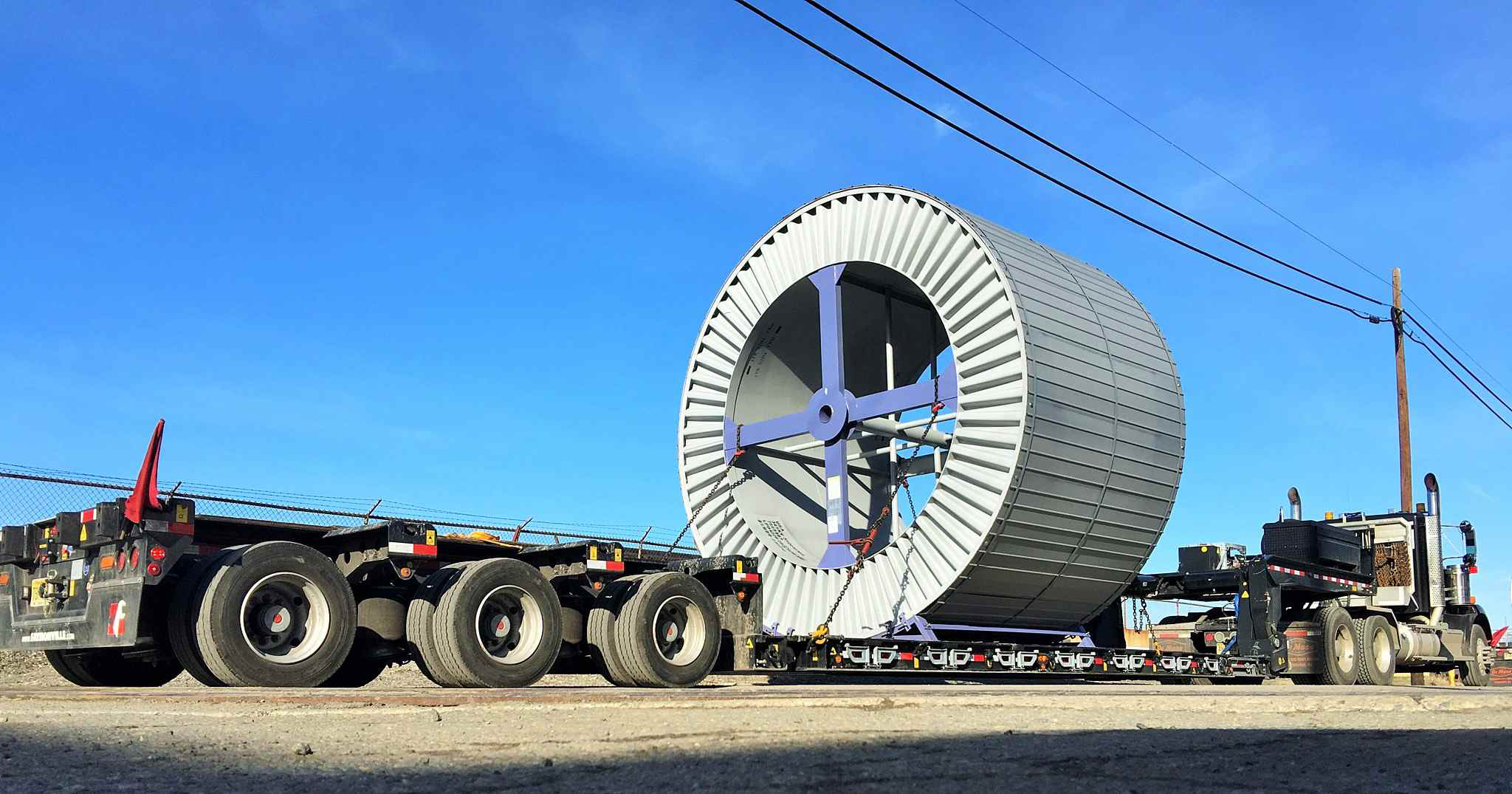Belgian heavy-haul trailer mfg. headed to ConExpo