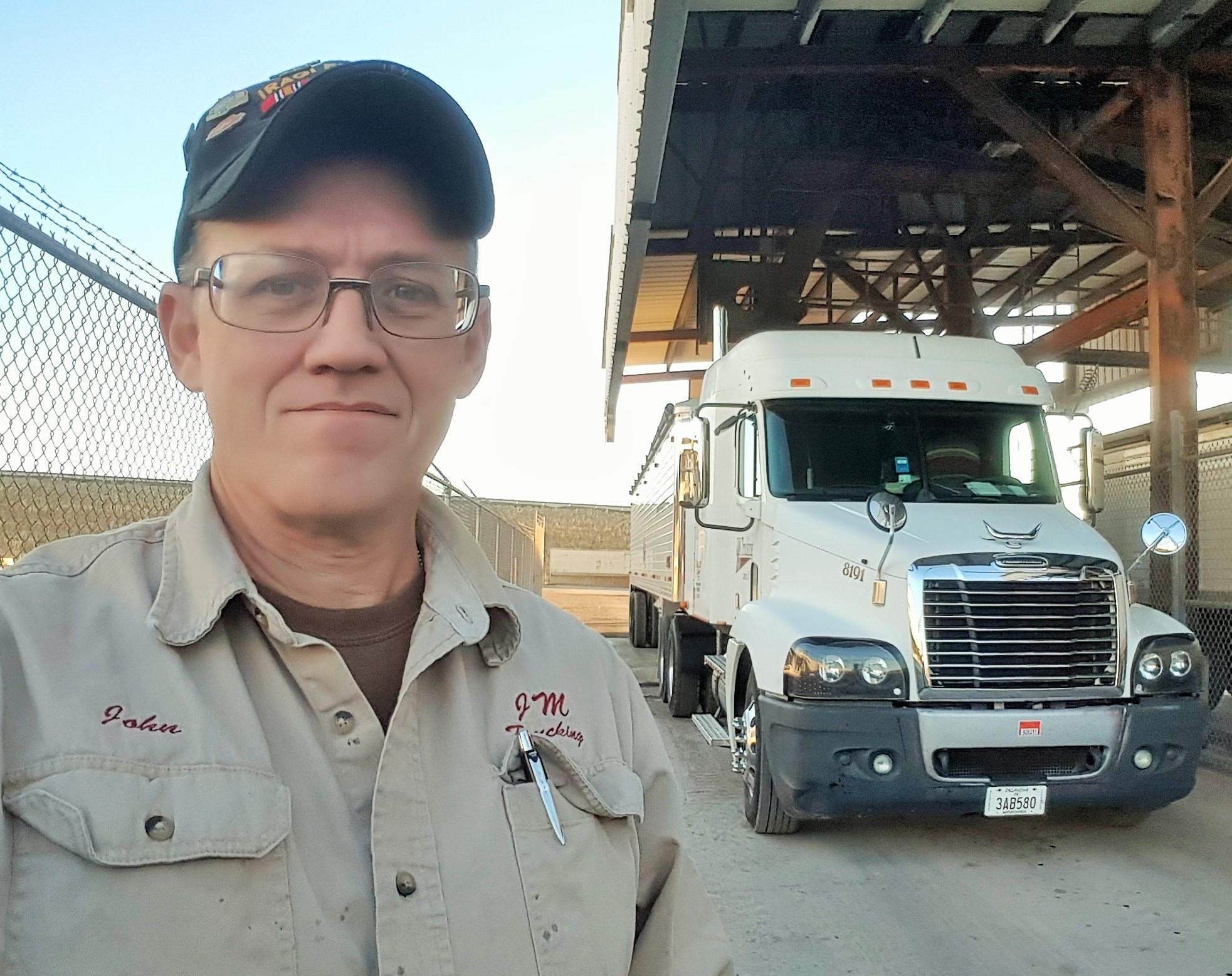 Dry bulk for the long haul: Reserves staff sergeant John Moore and his leased operation