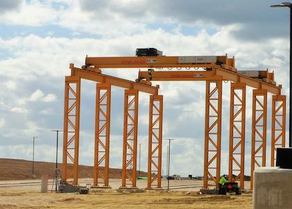 Landstar's new Laredo facility