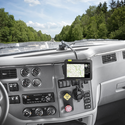 Trucker Tough's phone/GPS mount