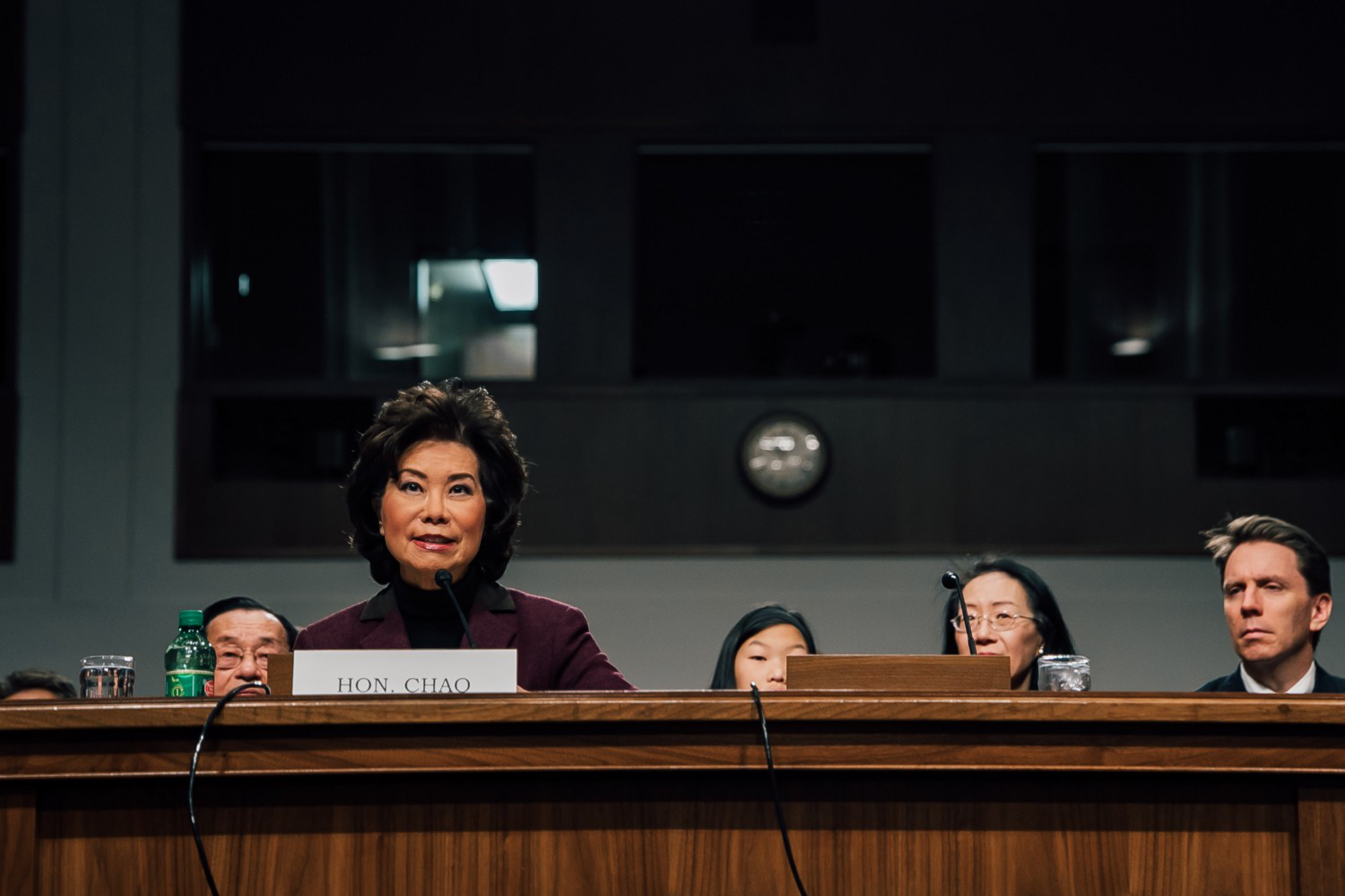 DOT nominee Chao says she hopes to balance automated vehicle tech, job displacement