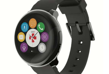 ZeRound smartwatch compatible with iPhone and Android