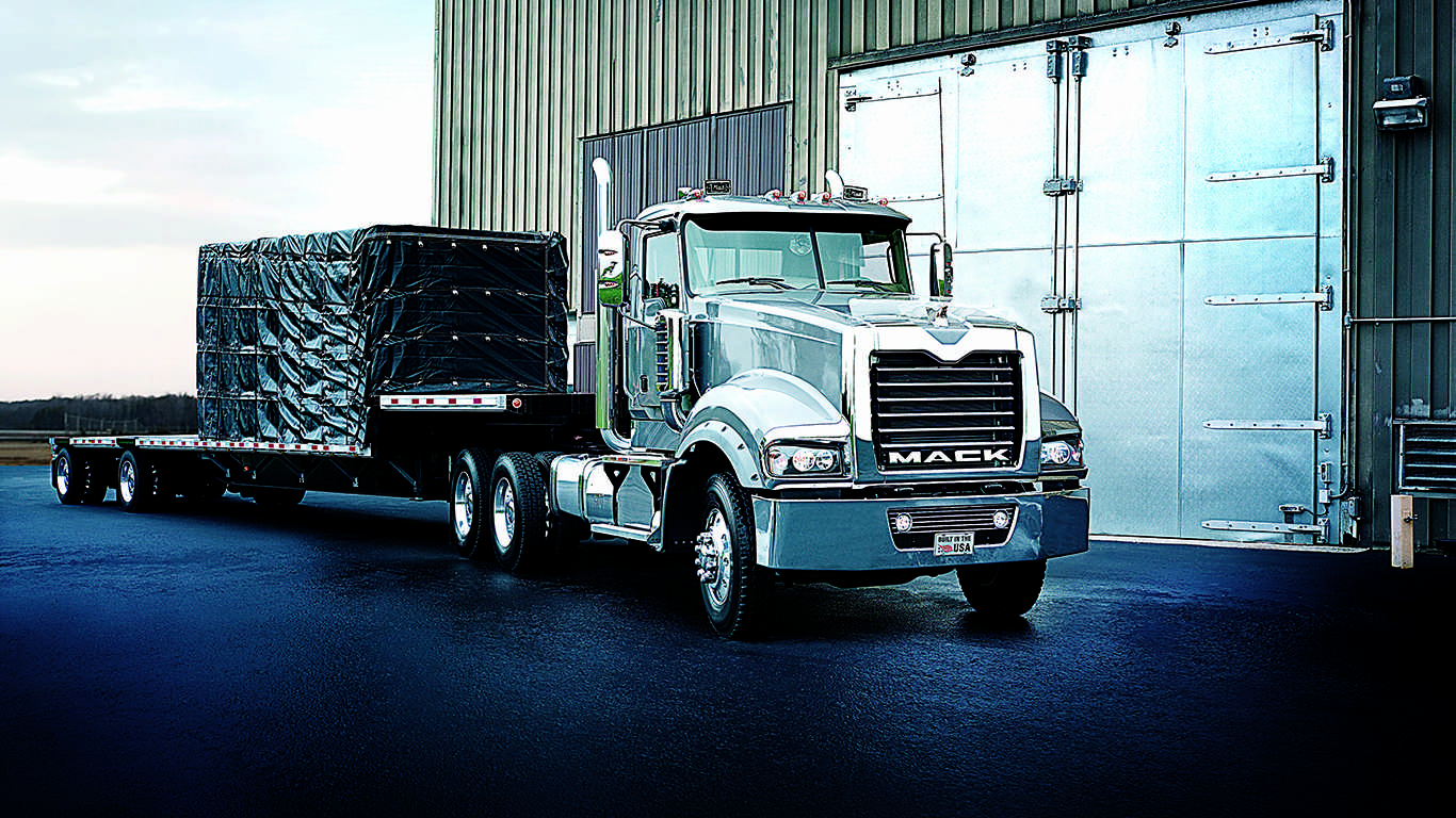 Mack drops Titan, 16L engine