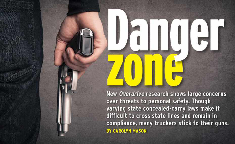 Danger zone: Truckers stick to their guns despite questions