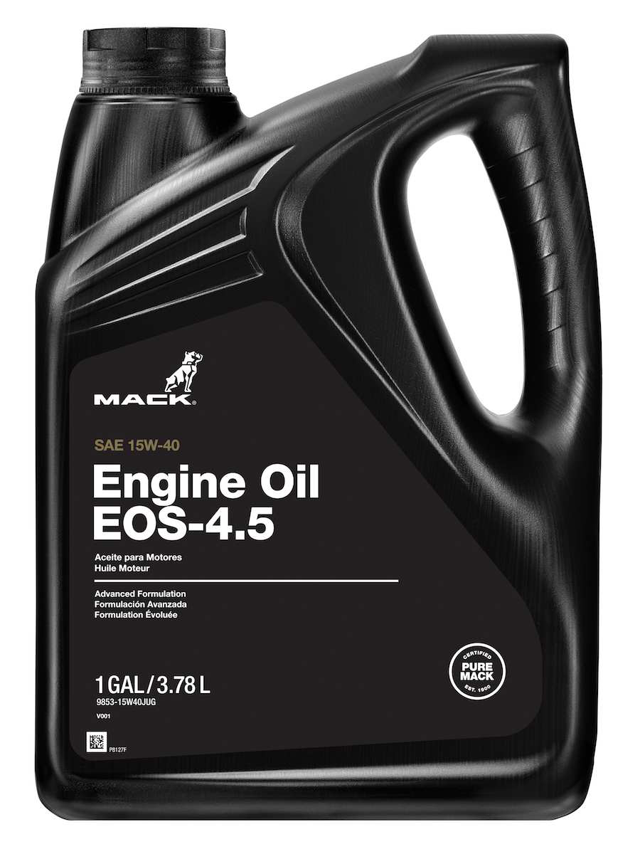 Mack introduces new diesel engine oil, extends drain intervals
