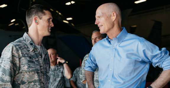 Florida governor proposes free CDLs for military veterans