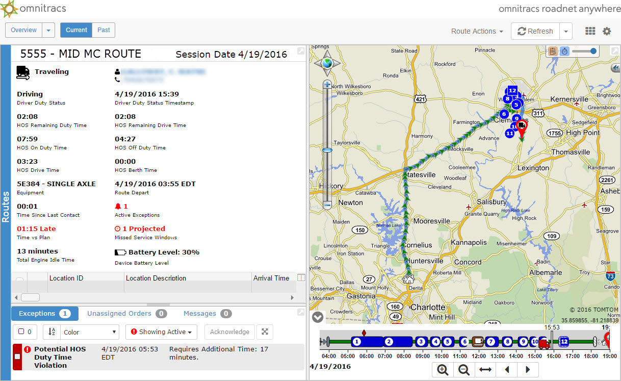 Omnitracs updates Roadnet Anywhere app, adds route optimization features