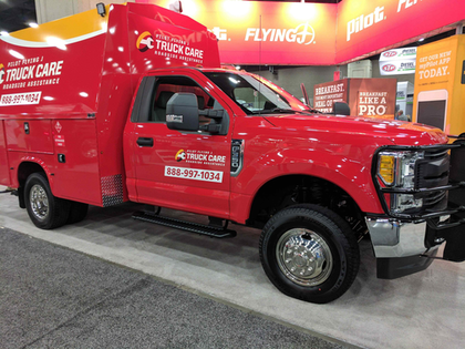 Pilot Flying J showcases emergency roadside assistance service at MATS
