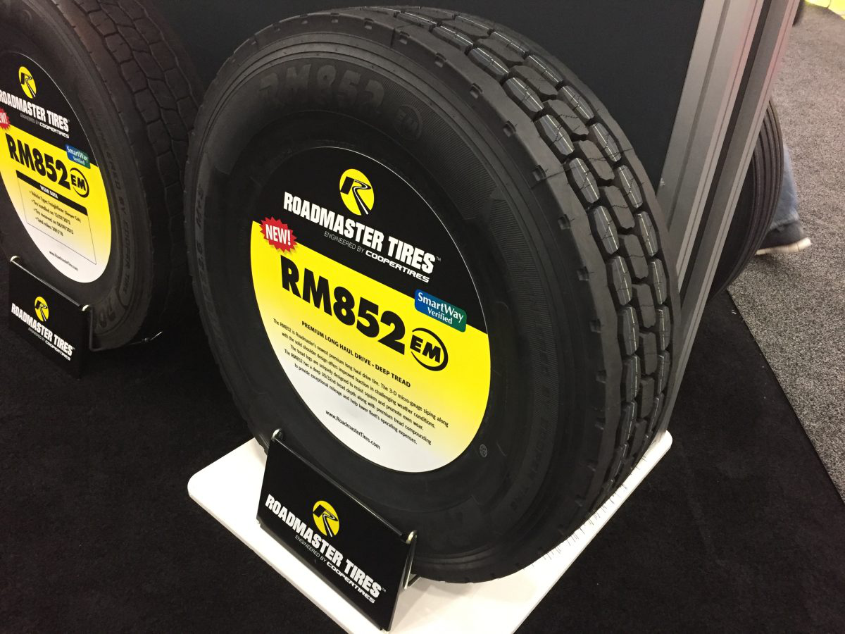 Cooper launches new Roadmaster long haul drive tire