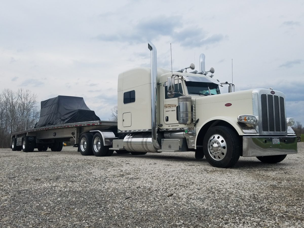 Eric Thompson's 2015 Peterbilt 389