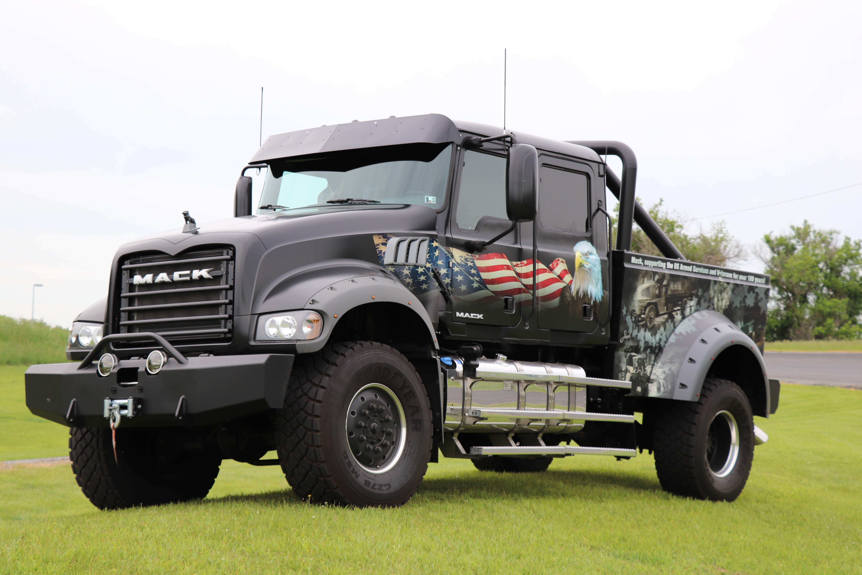 Volvo Mack Unveil New Ride For Freedom Trucks