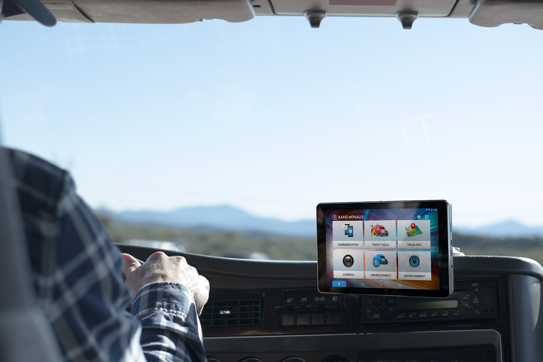 Rand McNally's new multifunction tablet combines GPS, dashcam and more in one package