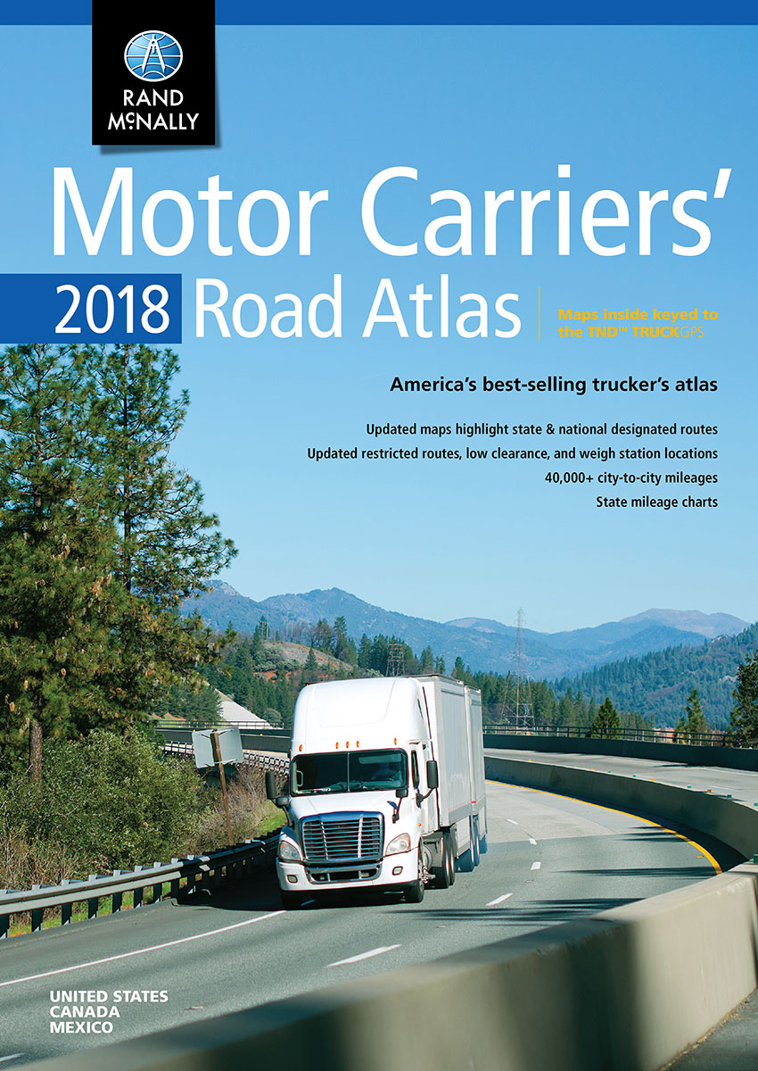 Rand Mcnally S Annual Truckers Road Atlas Released