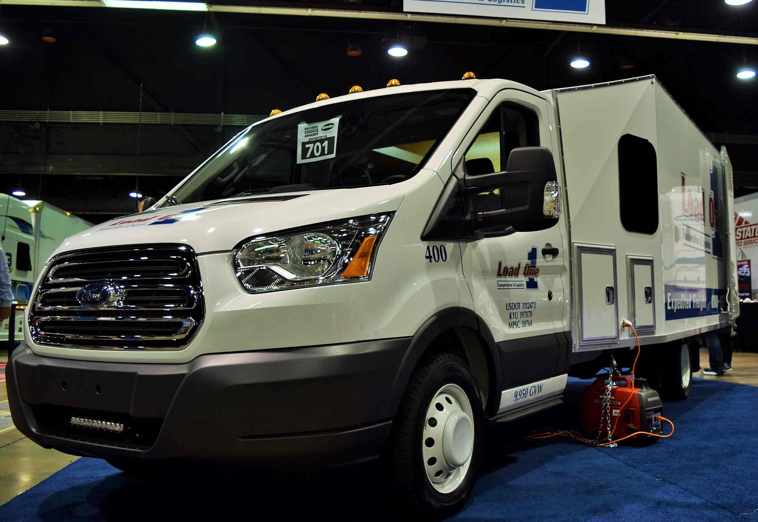 Ford Transit Cutaway >> Steve McNeal's sleeper-/six-skid-box-outfitted custom '17 Ford Transit expediter