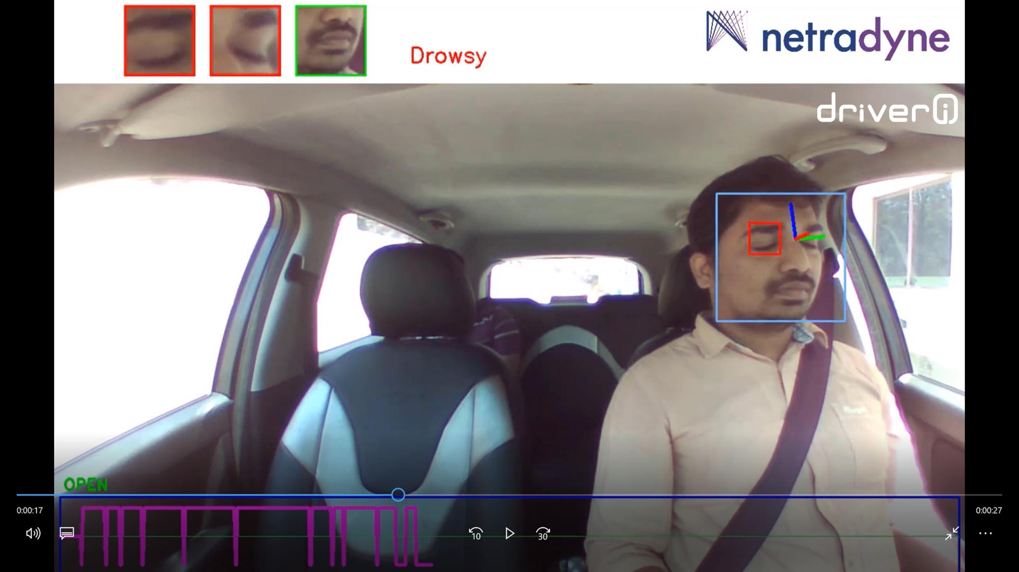 Fatigue Detection Where Some Driver Facing Camera Techs
