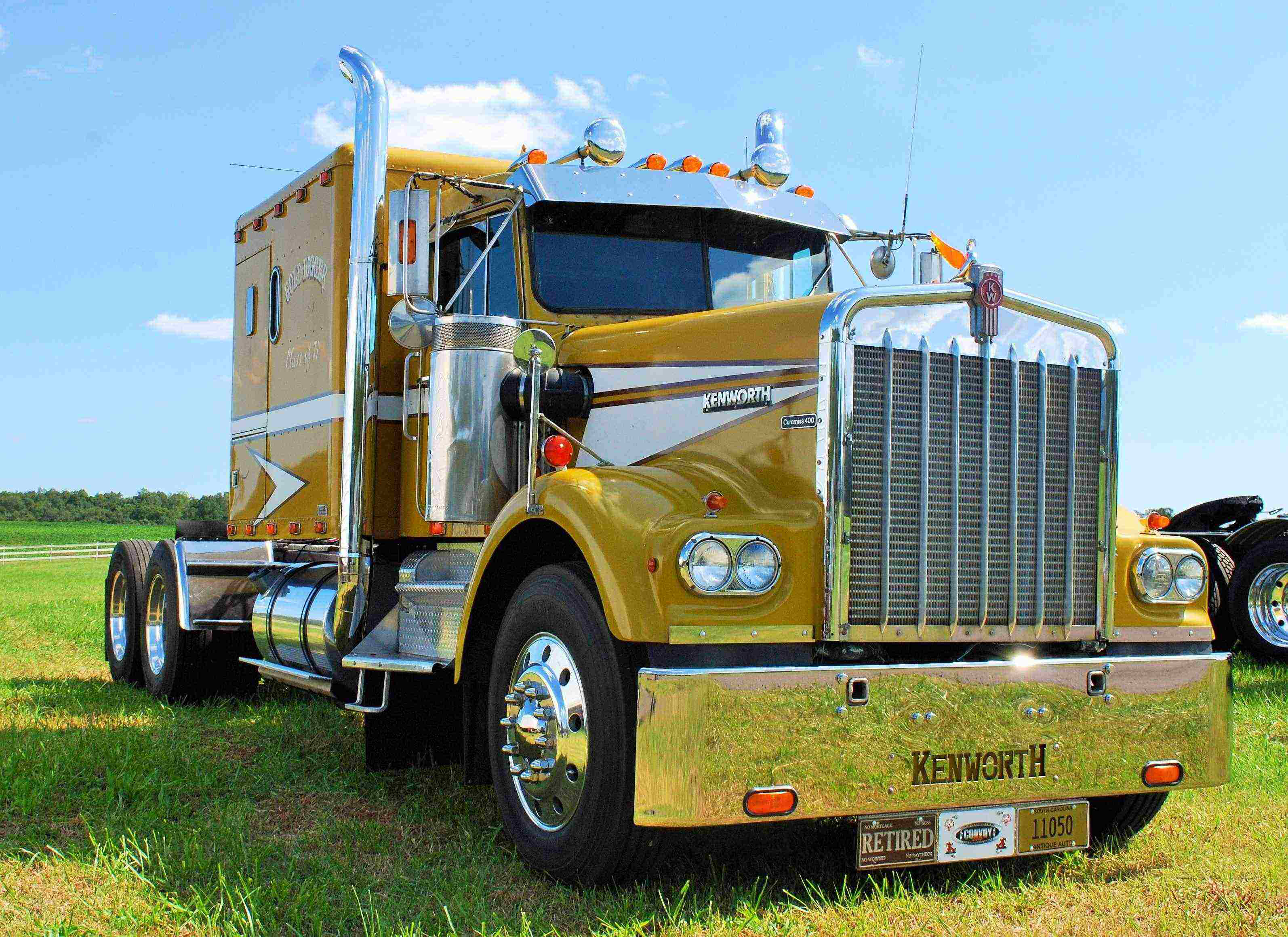 craig krumpton 39 s retirement project 1971 kenworth w900 and