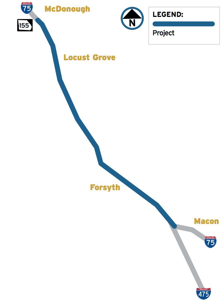Georgia eyes trucks-only lanes on I-75 near Atlanta