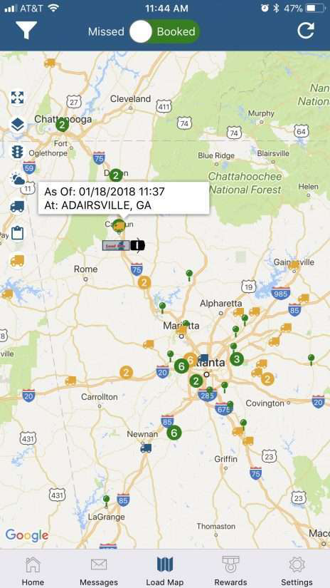 Load One's new app brings measure of self-dispatch to its expedited on