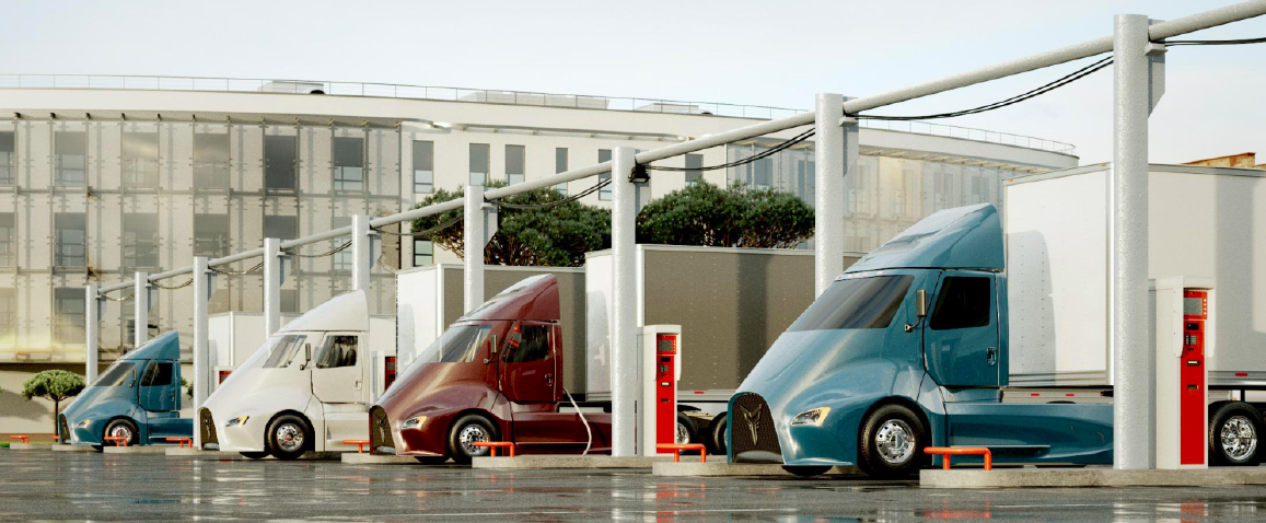 Power Shift: Electric truck makers promise cleaner, cheaper tractors, but can fueling and charging infrastructure keep up?