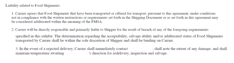 Fsma Outlines Small Fleet Compliance With Stipulations
