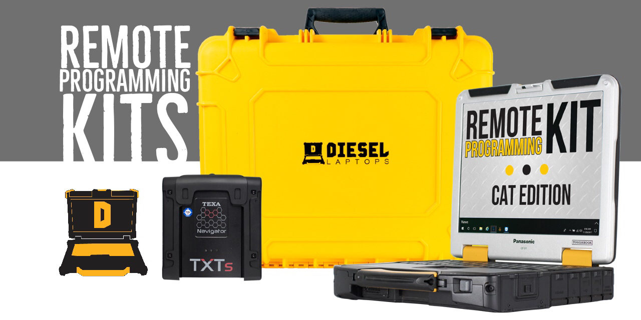 Diesel Laptops' Remote Programming Kits