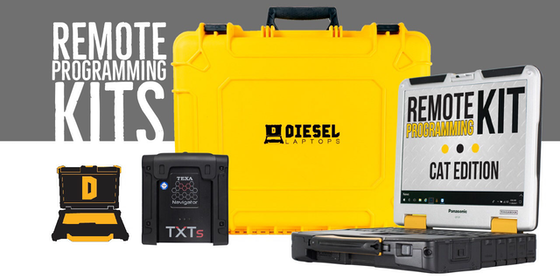remote programming kits from diesel laptops