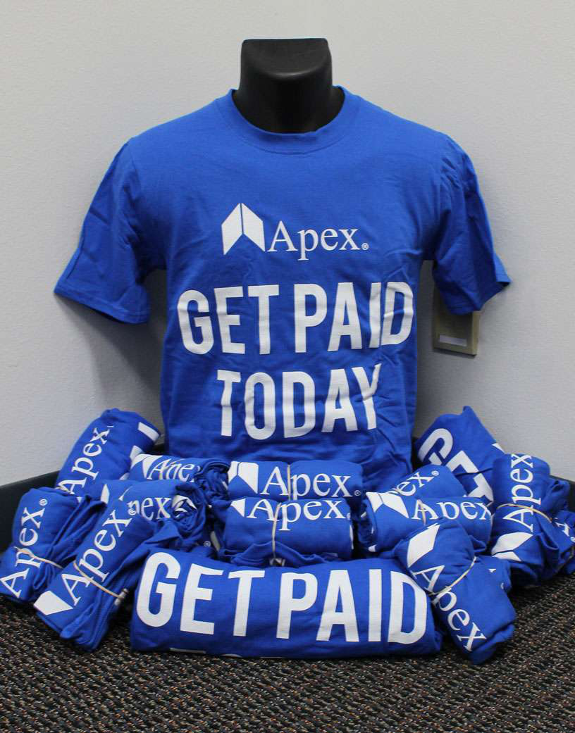 Apex Capital giving away $2,000 in cash at GATS this month