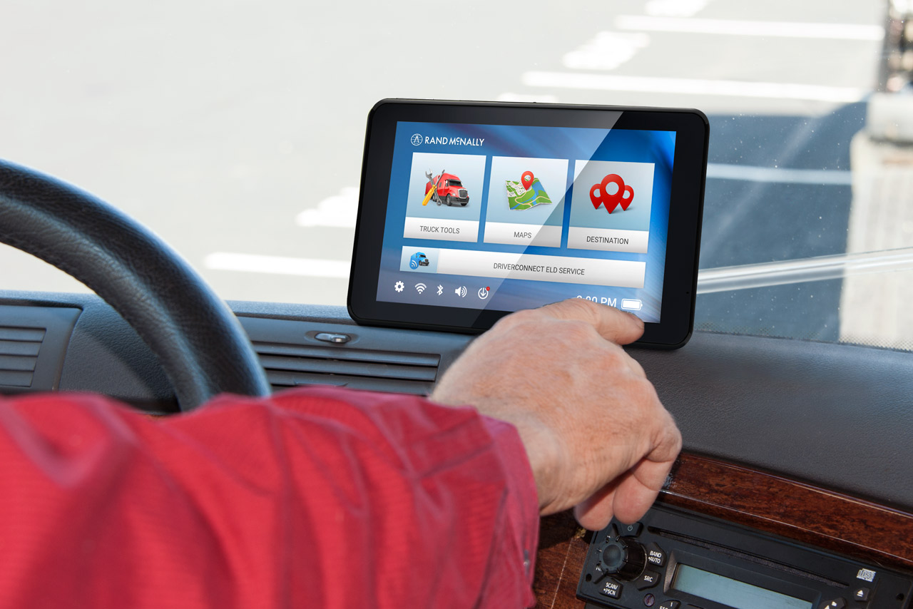 Rand Mcnally Gps >> Drivers and carriers allowed to mount GPS on windshields