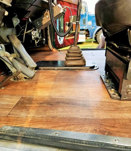 B Ray S Flooring Brings Vinyl Treatments To Semi Trucks