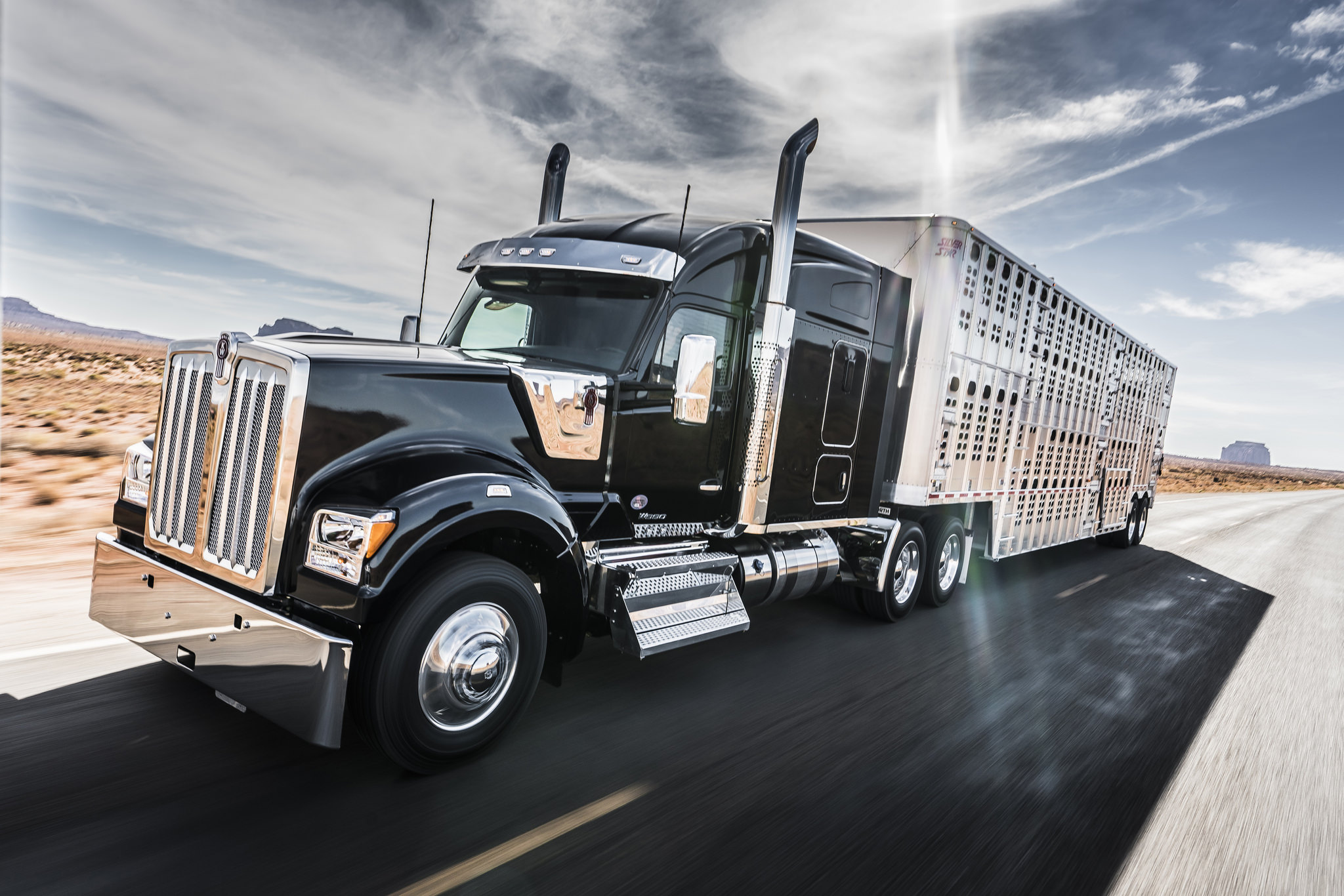Kenworth debuts the W9...