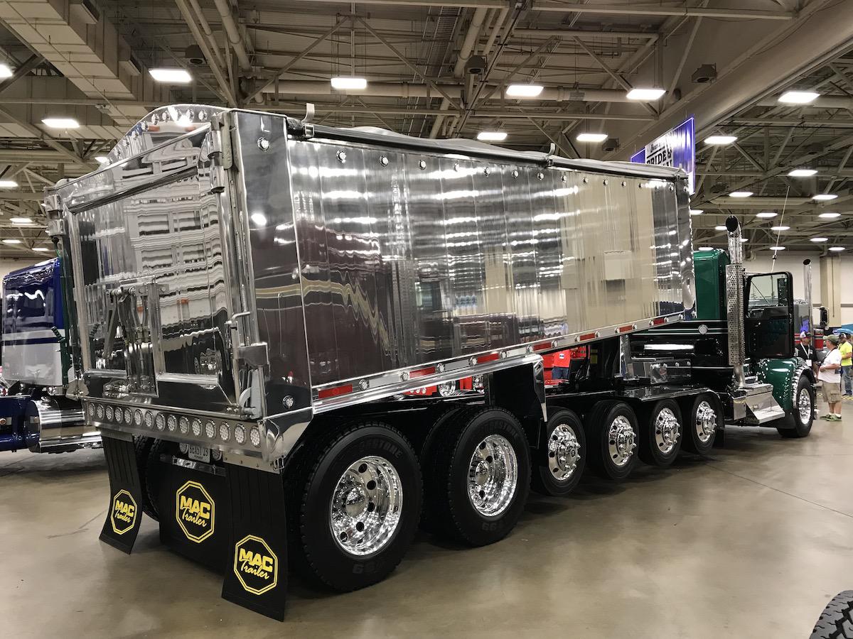 2018 Kenworth W900 trailer