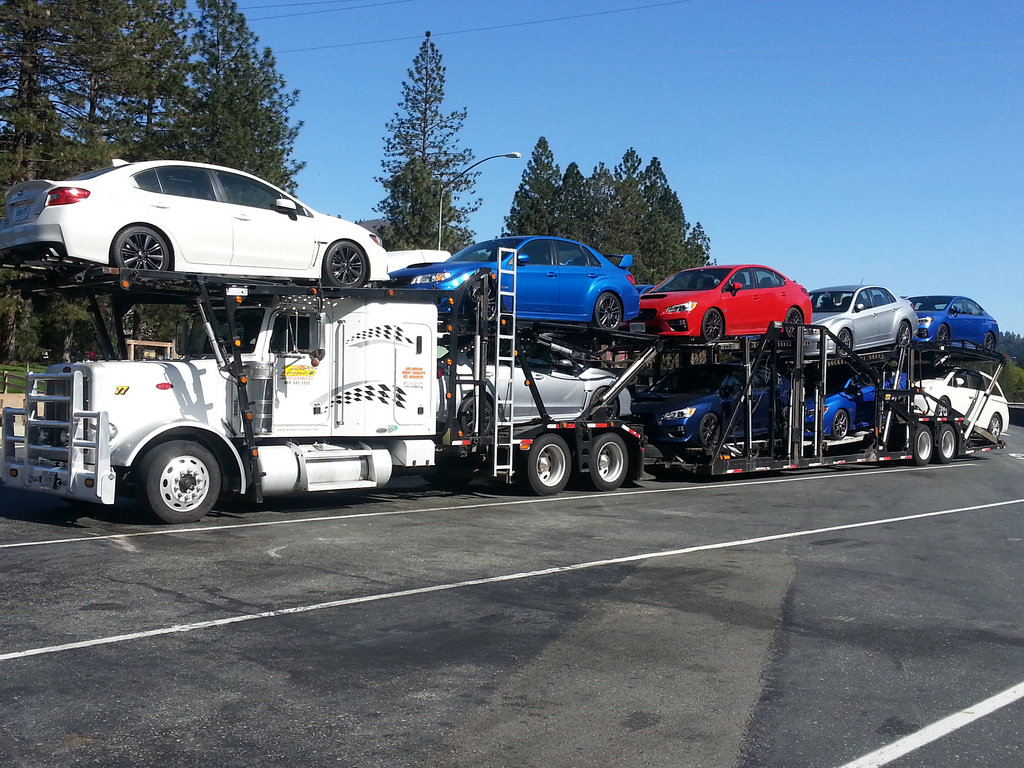 Car haulers reprieved from regulatory flags for large loads